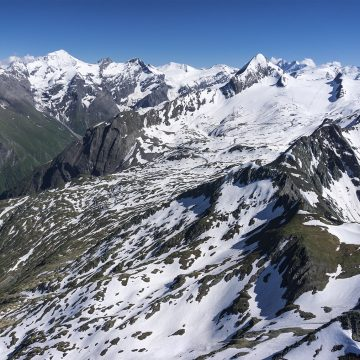 Second bonus flight. 155 km Triangle over Grossvenediger and Grossglockner.